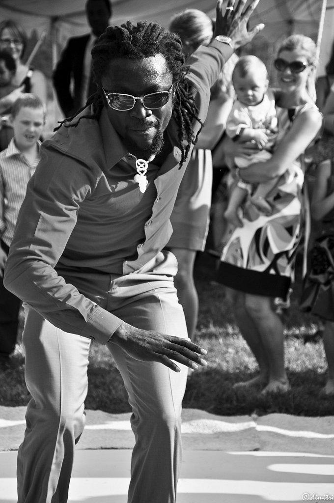 La danse des tambours